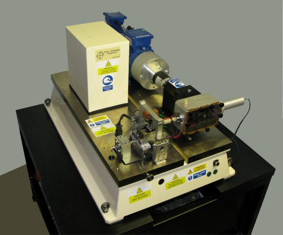 te 77 high frequency friction machine phoenix tribology ltd rh phoenix tribology com Tribology Model Tribology Equipment